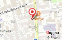 Схема проезда до компании Промотэк в Москве