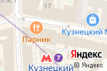Схема проезда до компании Бэби-тур в Москве