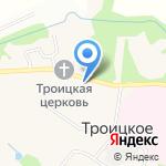 Магазин детского питания на карте Москвы