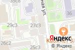 Схема проезда до компании Эликсир в Москве