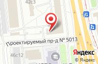 Схема проезда до компании Мекотех в Москве