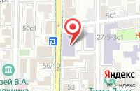 Схема проезда до компании Строй Визави в Москве