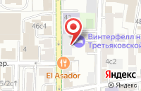 Схема проезда до компании Информкино в Москве