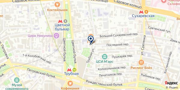 ПРЕДСТАВИТЕЛЬСТВО В МОСКВЕ ТФ BALKANPHARMAHOLDING A.D. на карте Москве