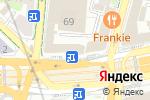 Схема проезда до компании Все цветы в Москве