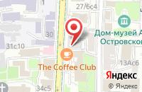 Схема проезда до компании Финпром Медиа в Москве