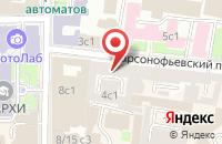 Схема проезда до компании Макмо Ком в Москве