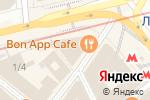 Схема проезда до компании КБ Межтрастбанк в Москве