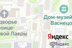 Схема проезда до компании Достижение в Москве