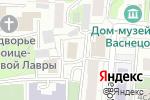 Схема проезда до компании Главмосстрой в Москве