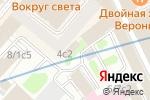 Схема проезда до компании Светленз в Москве