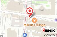 Схема проезда до компании Белый Медвежонок в Москве
