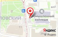 Схема проезда до компании Сапсан в Москве