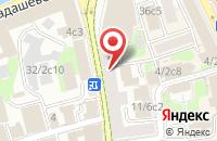 Схема проезда до компании Услуги Пресс в Москве