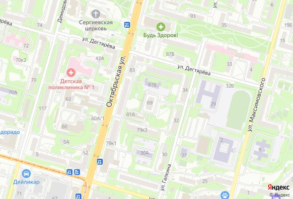 купить квартиру в ЖК по ул. Октябрьская