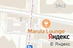 Схема проезда до компании Штрих-С в Москве