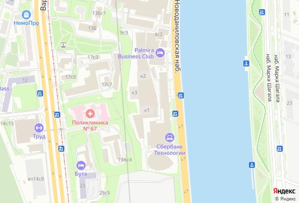 жилой комплекс Новоданиловская 8