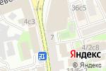 Схема проезда до компании EDDYS house в Москве