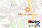 Схема проезда до компании Юрист-Плюс в Москве
