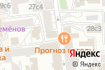 Схема проезда до компании Поисковые технологии в Москве