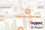 Схема проезда до компании Чайка в Москве