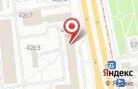 Схема проезда до компании Юджити в Москве