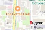 Схема проезда до компании I-M service в Москве
