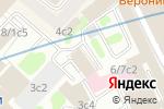 Схема проезда до компании ИТАРОН ПРАВО в Москве