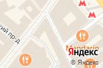 Схема проезда до компании Эксклюзион в Москве