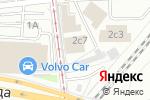 Схема проезда до компании Арена-Сервис в Москве