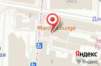 Схема проезда до компании Виконт в Москве
