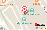 Схема проезда до компании Издательство  в Москве