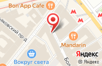 Схема проезда до компании Город Доброй Воли в Москве