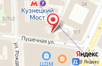 Схема проезда до компании Волна в Москве