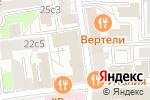 Схема проезда до компании Внешторгсервис в Москве