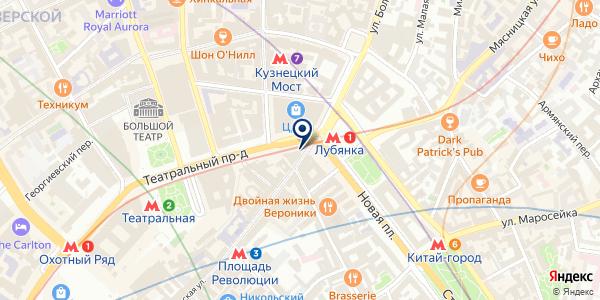 Flower Project на карте Москве