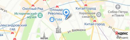 Шатер Девелопмент на карте Москвы