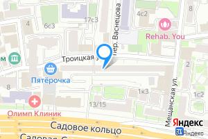 Комната в Москве Троицкая ул., 10с1