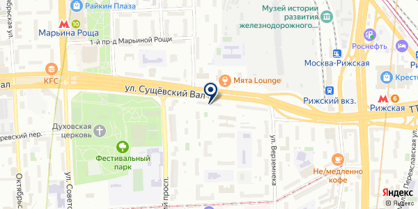 ПРОДОВОЛЬСТВЕННЫЙ МАГАЗИН ВОДОЛЕЙ-СЕРВИС на карте Москве