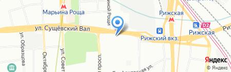 Экспедиция на карте Москвы