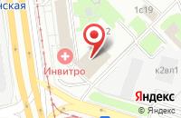 Схема проезда до компании Промтехэкспертиза в Москве