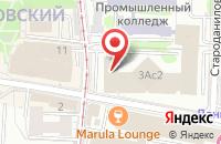 Схема проезда до компании Продюсерский Центр «Эчо А Мано» в Москве