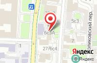 Схема проезда до компании Б - Комм в Москве
