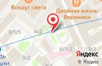 Схема проезда до компании СнабСтрой в Москве