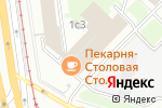 Схема проезда до компании Салон красоты на Нагатинской в Москве
