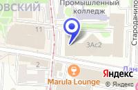 Схема проезда до компании ПТФ SERVICE BAR в Москве