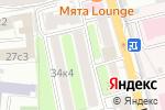 Схема проезда до компании Новый Уровень в Москве