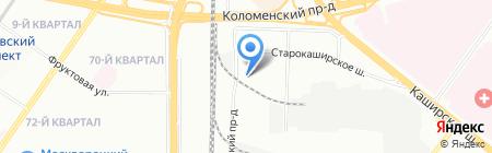 Окна Колизей на карте Москвы
