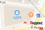 Схема проезда до компании Sanetta в Москве