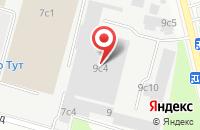 Схема проезда до компании ФортМедиа в Москве
